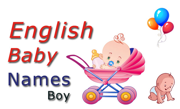 English baby boy names and meanings