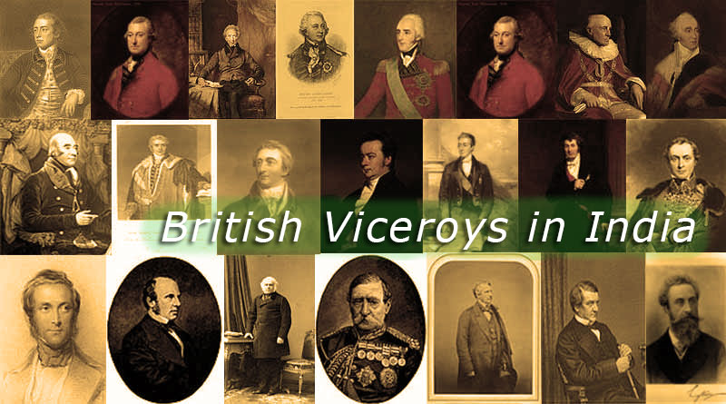 British Viceroys of India