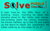 The Man in the Elevator – Lateral Thinking Puzzles