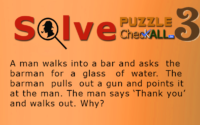 The Man in the Bar – Lateral Thinking Puzzles
