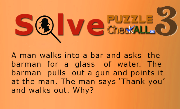 The Man in the Bar Lateral Puzzle