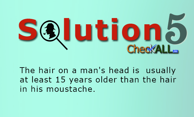 Solution Mystery with mustache