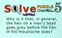 Mystery with mustache – Lateral Thinking Puzzles