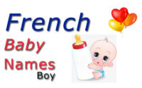 French Baby Boy Names And Meanings